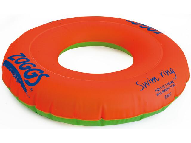 Zoggs Swim Ring 2-3 ans Enfant, orange/green